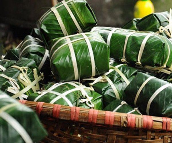 Bánh chưng Bờ Đậu Thái Nguyên