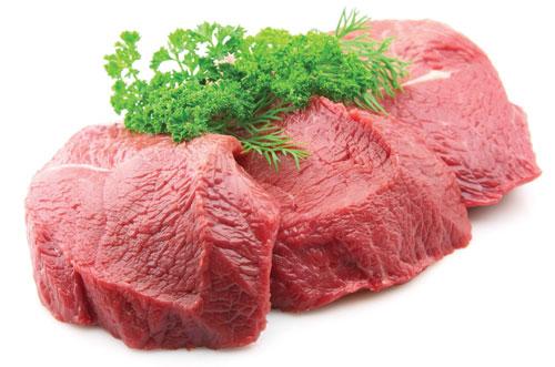Thịt bê thịt bò sạch